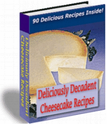 Product picture Deliciously Decadent Cheesecake Recipes